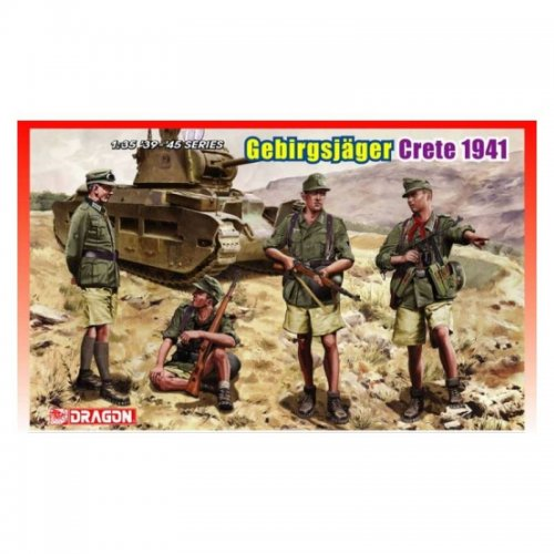 Gerbirgsjagers Crete 1941, 1/35