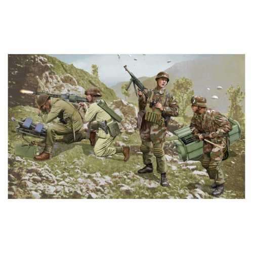 German Infantry (WWII) Brandenburg Troops, Leros 1943, 1/35