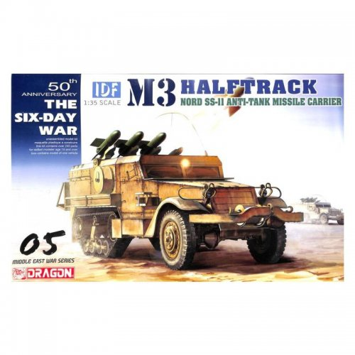 IDF M3 Halftrack with Nord Aviation SS.11, 1/35