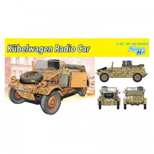 Kubelwagen Radio Car,  1/35