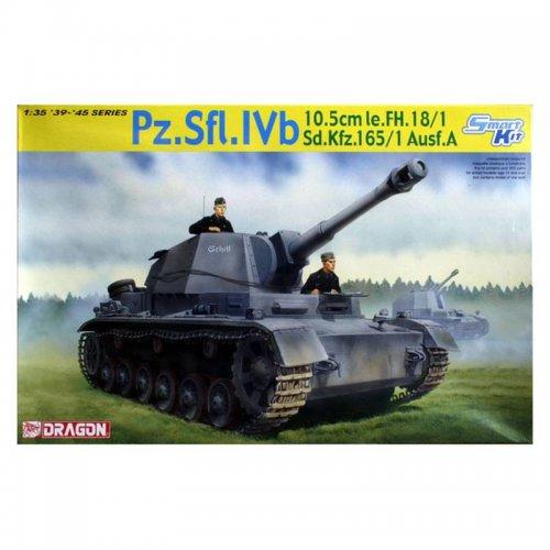 Sd.Kfz.165/1 Ausf.A 10cm le.FH. 18/1 , 1/35