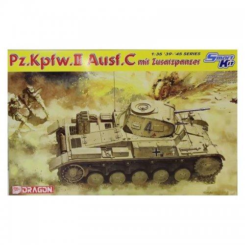 Pz.Kpfw.II Ausf.C mit Zusatzpanzer , 1/35