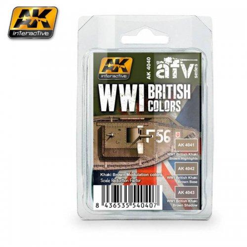 WWI BRITISH COLORS