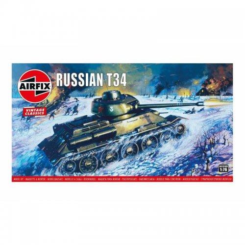 Russian T34 Medium Tank - Vintage Classics 1/76