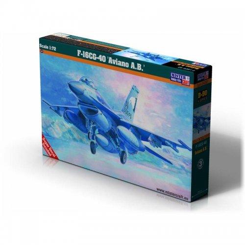 F-16 BLOCK 40 AVIANO A.B., 1/72