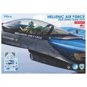 ΧΑΛΚΟΜΑΝΙΕΣ F-16 ZEUS DEMO TEAM, 1/48