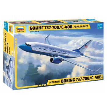 Boeing 737-700 / C-40B, 1/144 | Zvezda 7027