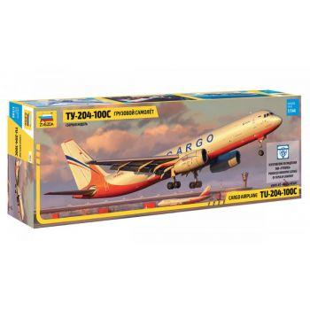 Tupolev TU-204-100C Cargo Airplane, 1/144 | Zvezda 7031