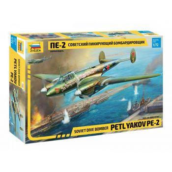 Petlyakov Pe-2, 1/72 | Zvezda 7283