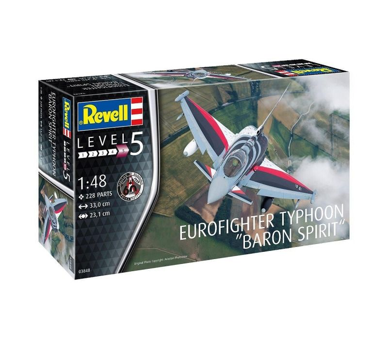 "Eurofighter Typhoon ""BARON SPIRIT"", 1/48"
