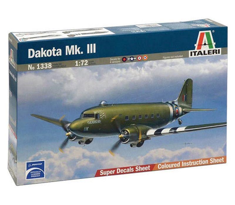 Douglas DC-3/Douglas C-47 Dakota Mk.III, 1/72 | Italeri 1338