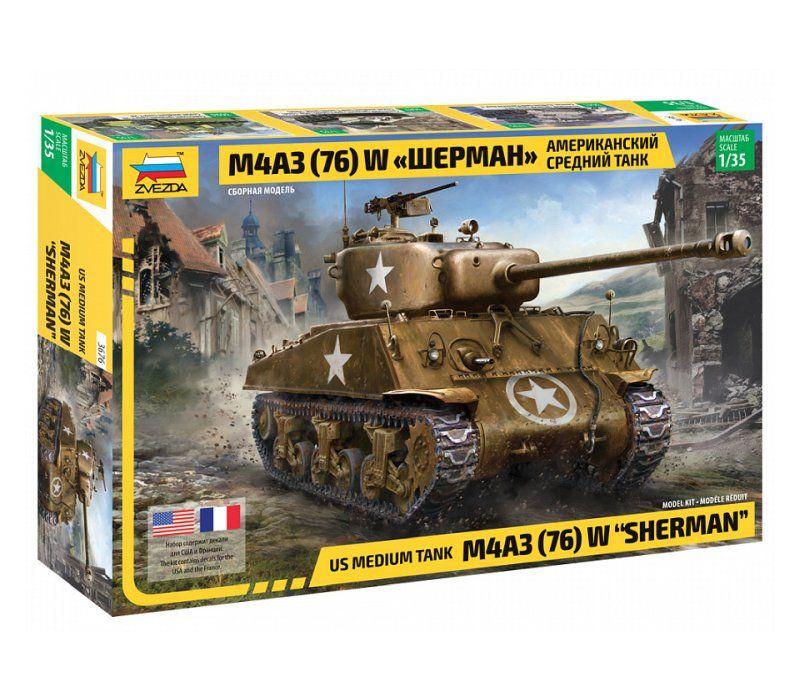 M4A3 (76)W Sherman, 1/35